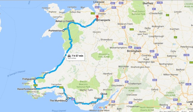 Travels from Overend Road Trip