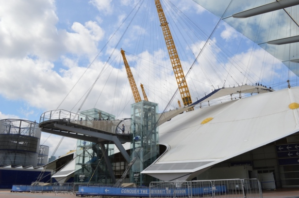 Millennium Dome Walk