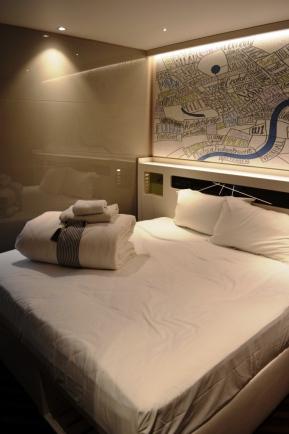 Premier Inn Hub room